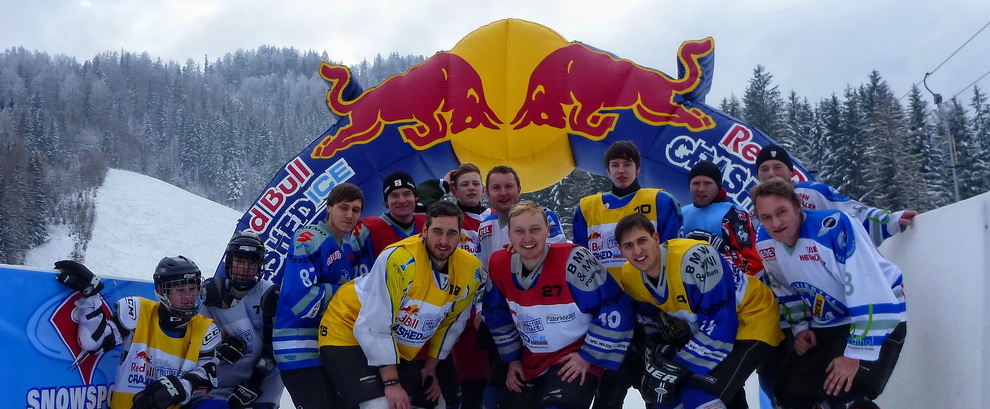 Red Bull Crashed Ice Challenge